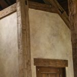 Plâtre ancien, vieux mur, faux fini, vieilles poutres de bois, antique plaster, old walls, Normandy castle, faux finish, old wood beams, custom made textures
